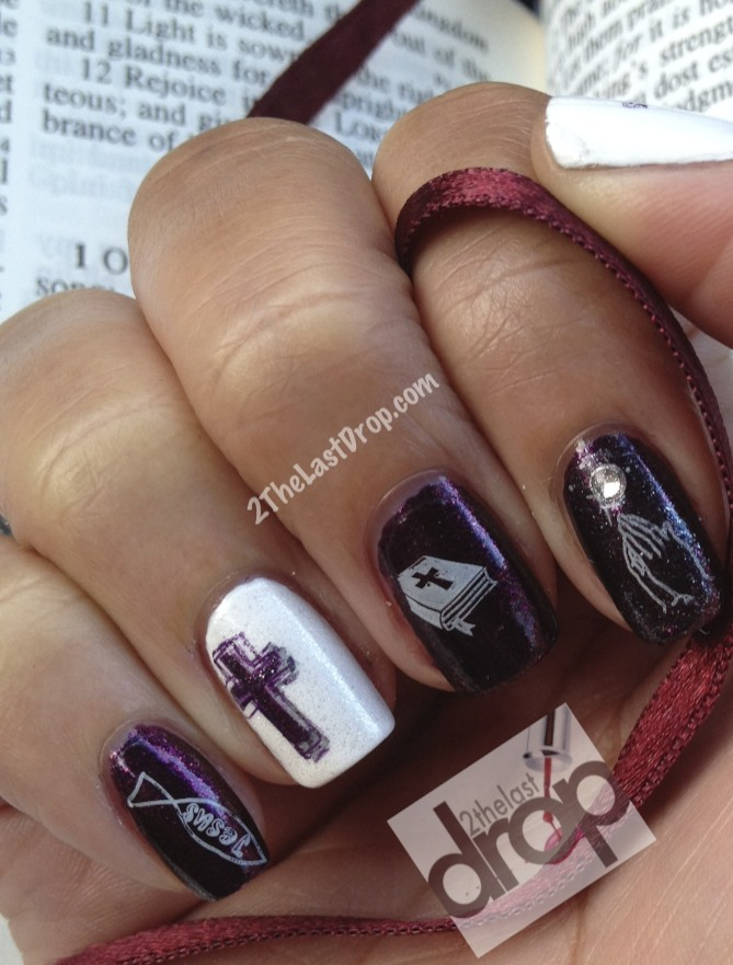 Supernatural nails 2thelastdrop inspired by the supernatural miracle nails day 29 prinsesfo Image collections